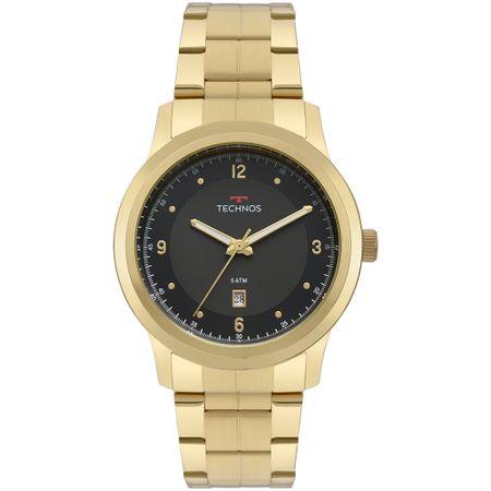 Relógio Technos Steel Masculino Dourado 2115MRF/4P