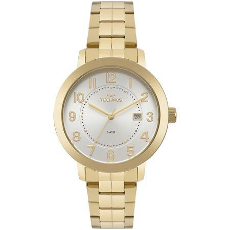 Relógio Technos Feminino Dress Dourado 2115MRU/4K