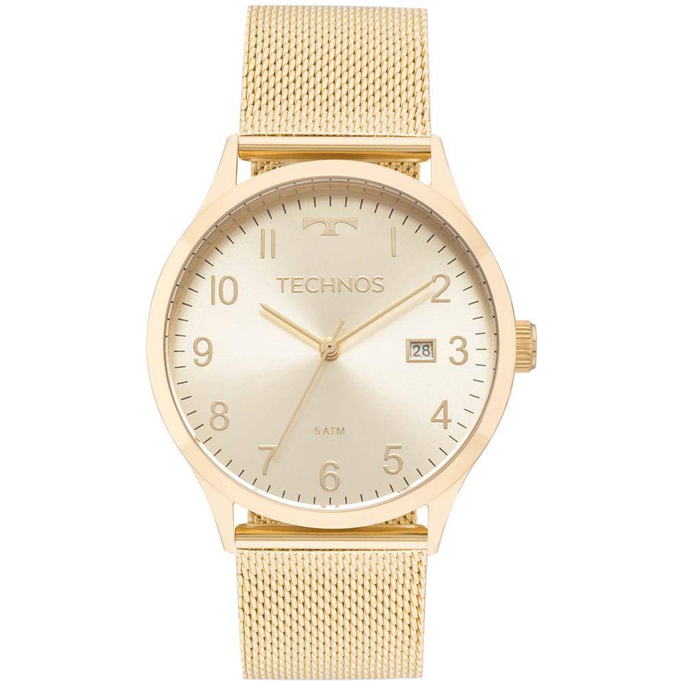 6916b8ea8e2 2115MNK4X 1. 2115MNK4X 1. Technos. Relógio Technos Dress Feminino Dourado  ...