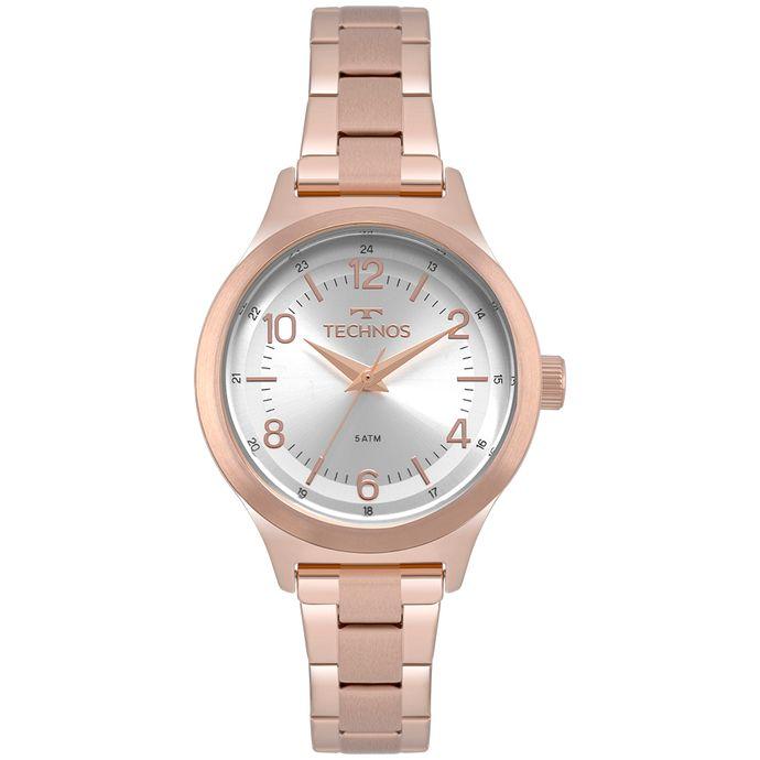 Relógio Technos Boutique Feminino Rosé 2035MNM 4K 5c448e5009