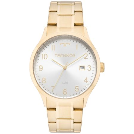 Relógio Technos Dress Feminino Dourado 2115MNL/4K