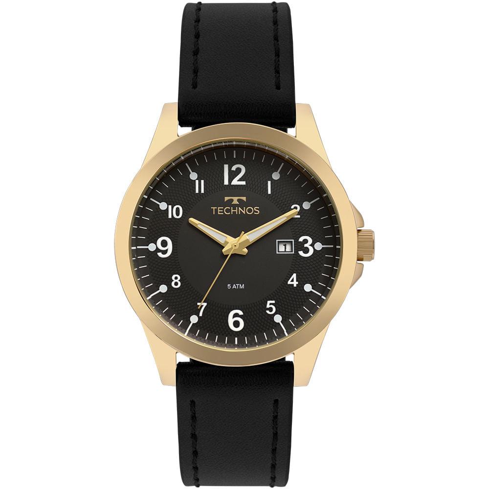 Relógio Technos Masculino Steel Dourado - 2115MQF 2P - timecenter d368dcd097