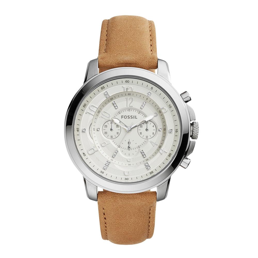 Relógio Fossil Feminino Gwynn Marrom - ES4038 1BI - timecenter 420df0255b
