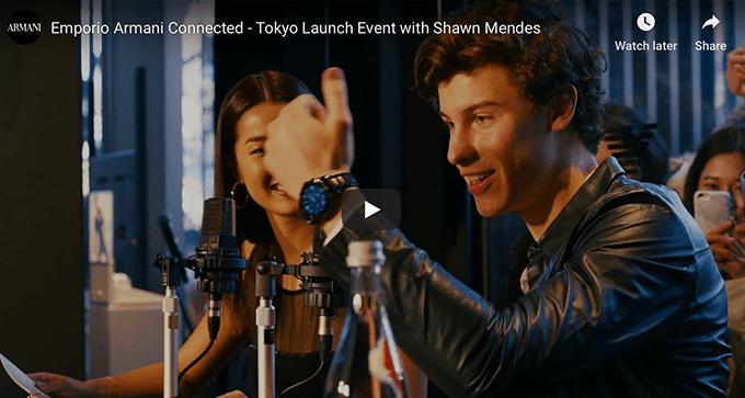 Vídeo da campanha