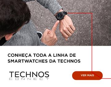 Conheça toda a linha de smartwaches da technos