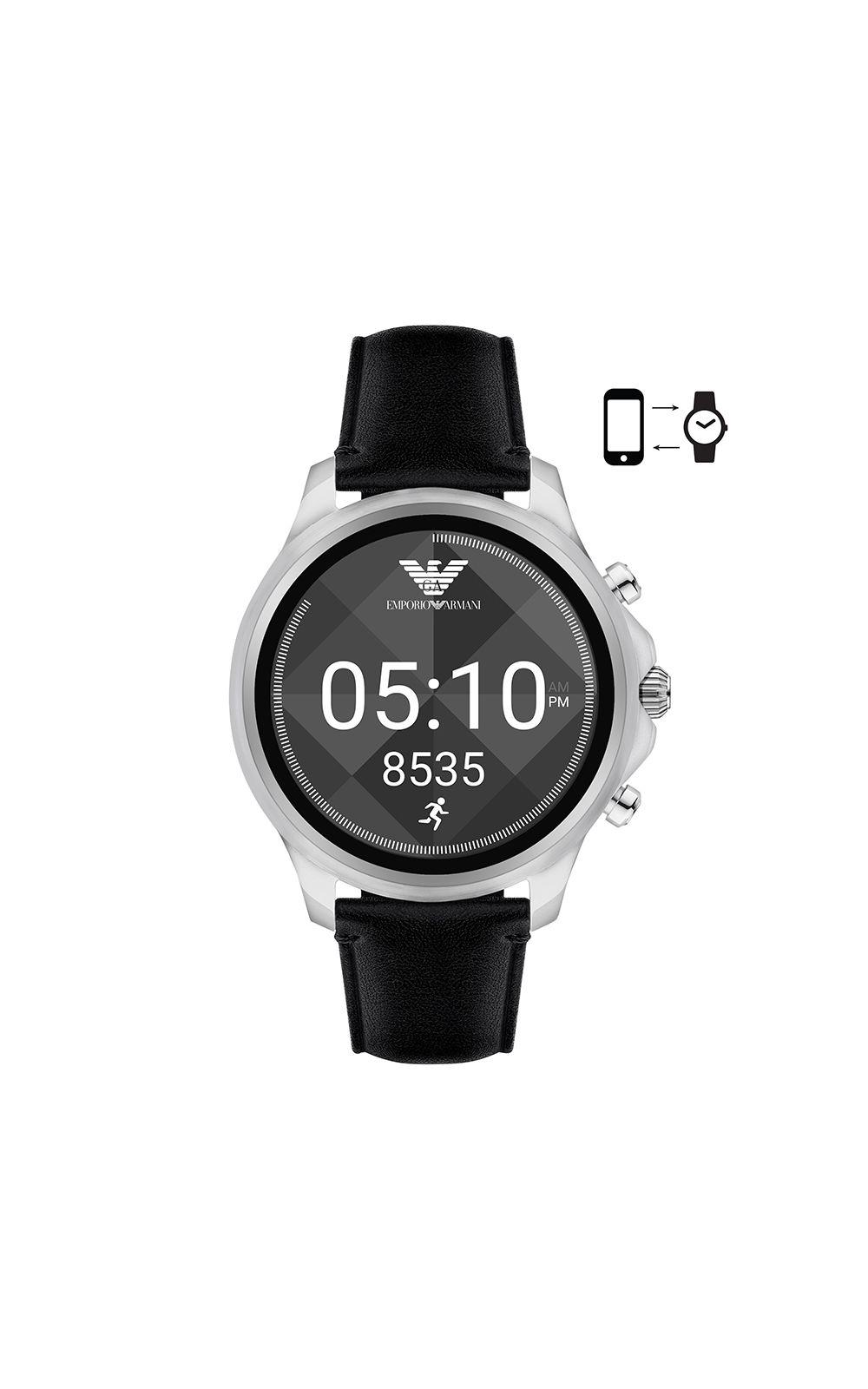 Foto 1 - Smartwatch Emporio Armani Masculino Prata - ART5003/0PI