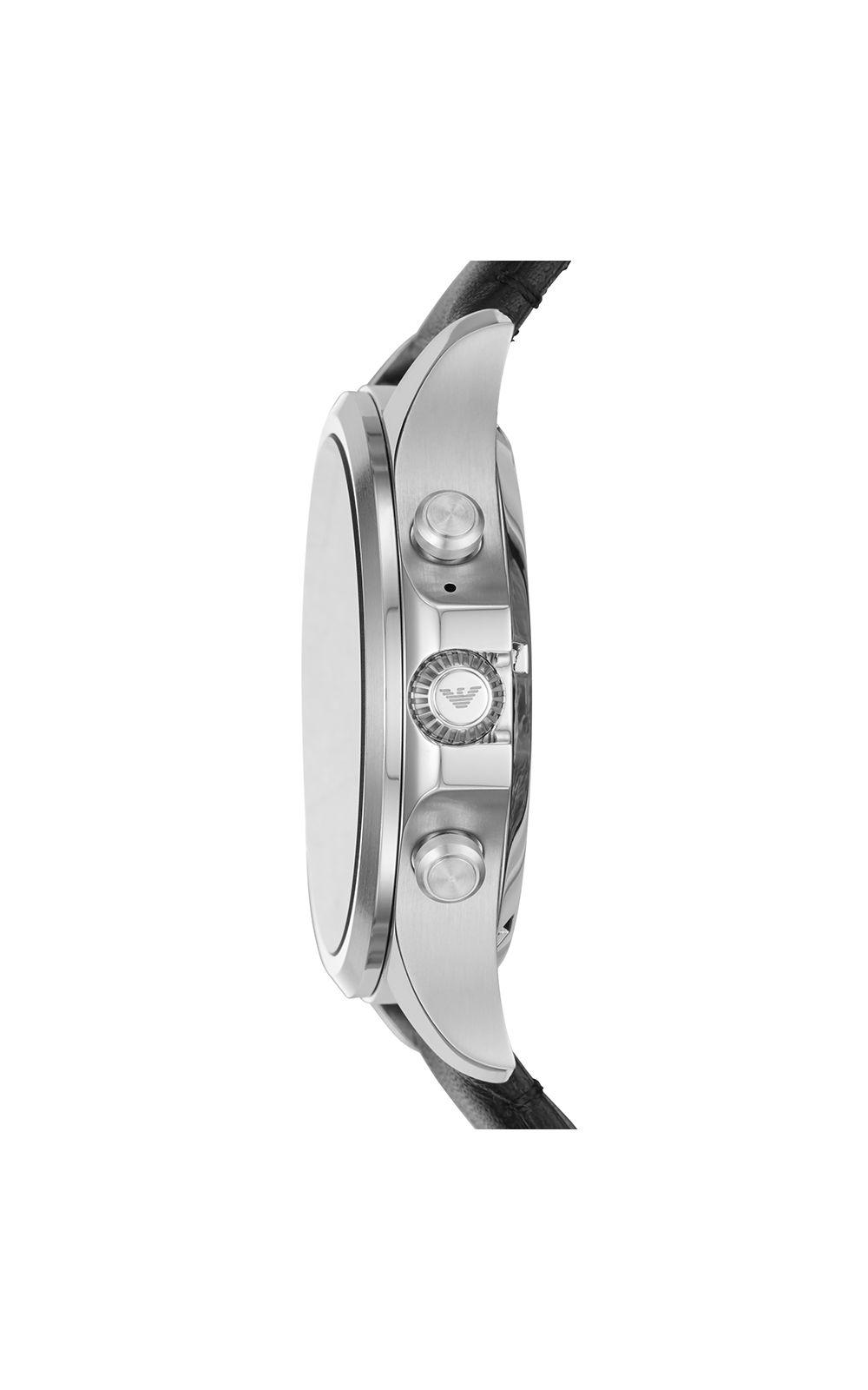 Foto 2 - Smartwatch Emporio Armani Masculino Prata - ART5003/0PI