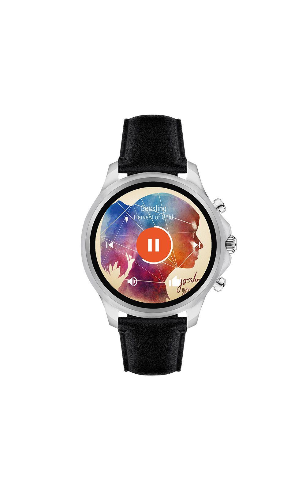 Foto 3 - Smartwatch Emporio Armani Masculino Prata - ART5003/0PI