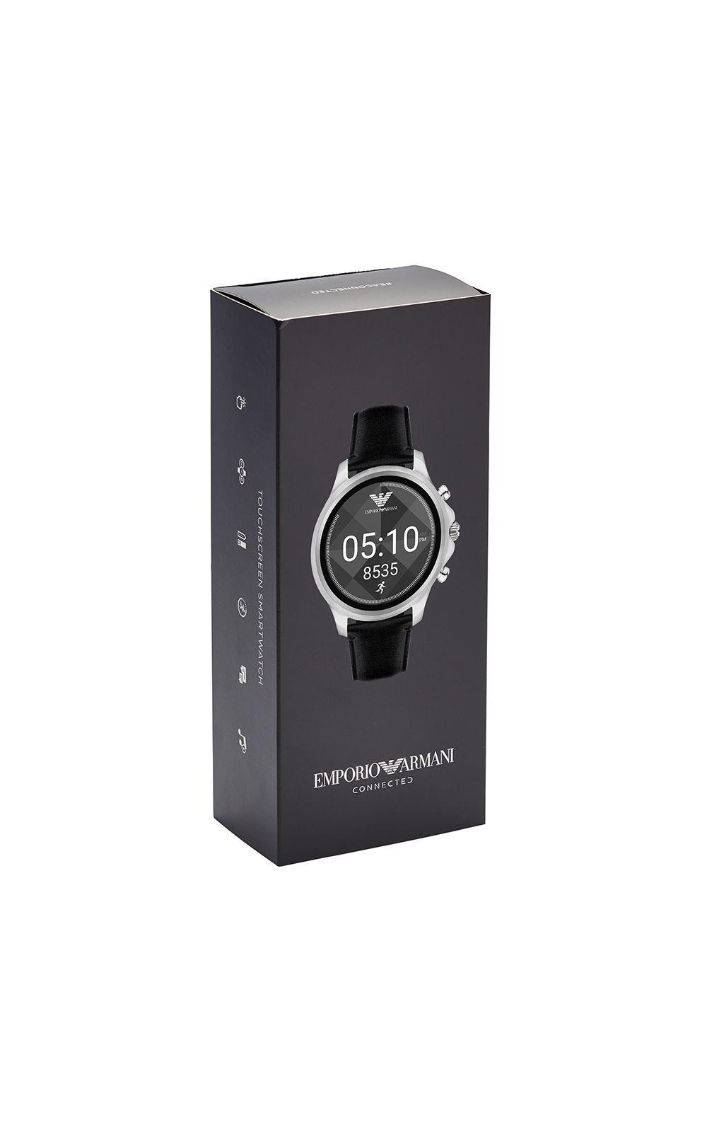 Foto 6 - Smartwatch Emporio Armani Masculino Prata - ART5003/0PI