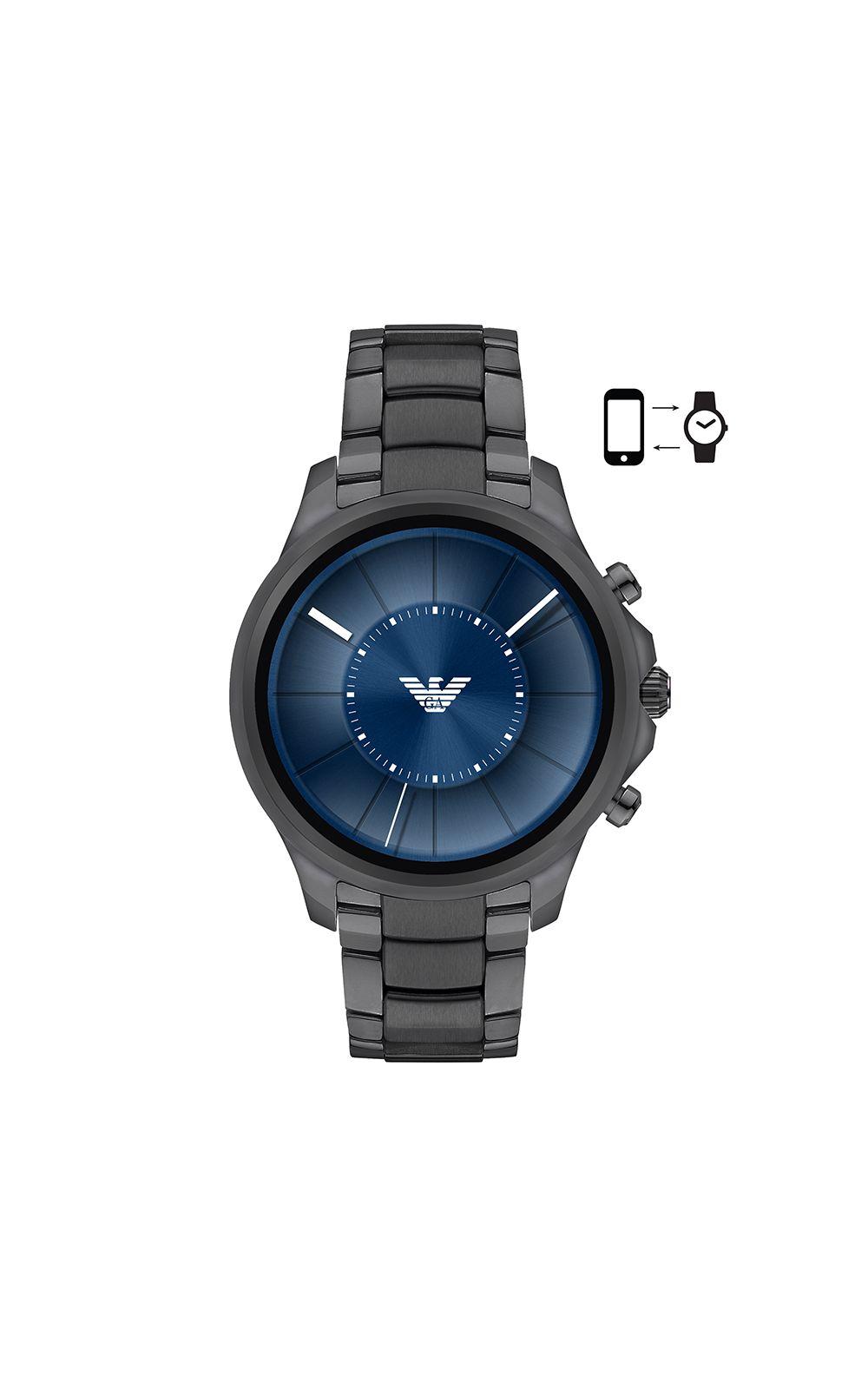 Foto 1 - Smartwatch Emporio Armani Masculino Grafite - ART5005/1FI