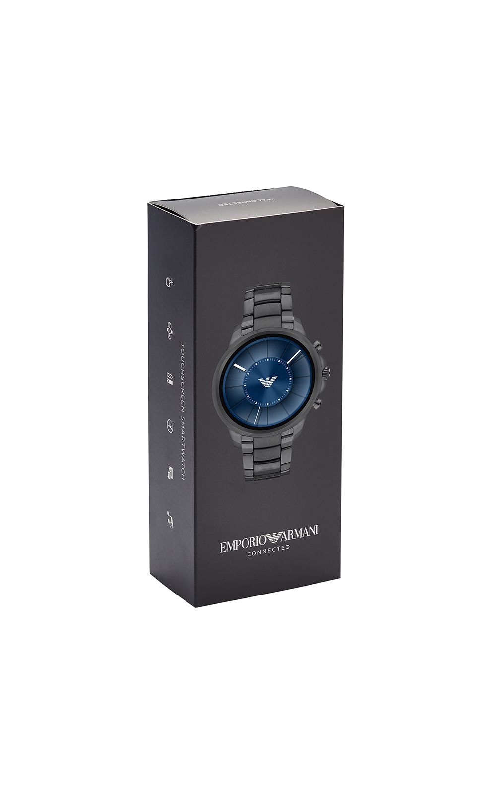 Foto 6 - Smartwatch Emporio Armani Masculino Grafite - ART5005/1FI
