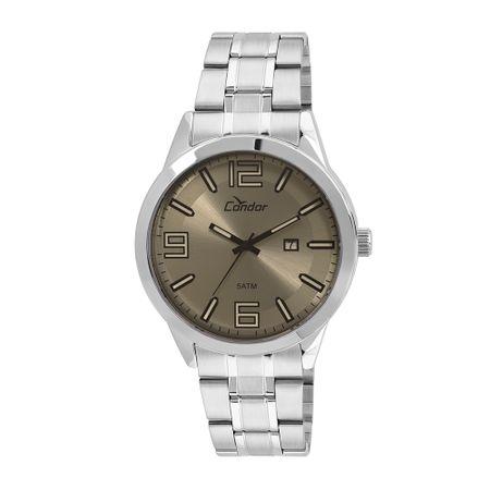 Relógio Condor Masculino Metal Prata - CO2115YA/3C