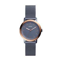 b4b7fc98640 Relógio Fossil Feminino Neely Azul - ES4312 1AI