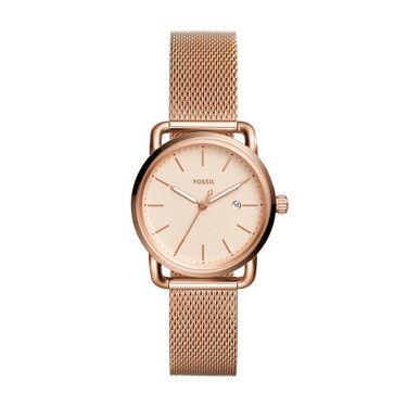 2cc9d8624e2 Relógio Fossil Feminino Fossil Rosé - ES4333 1JI