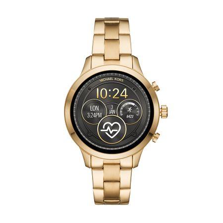 Smartwatch Michael Kors Feminino Runway Dourado - MKT5045/1DI
