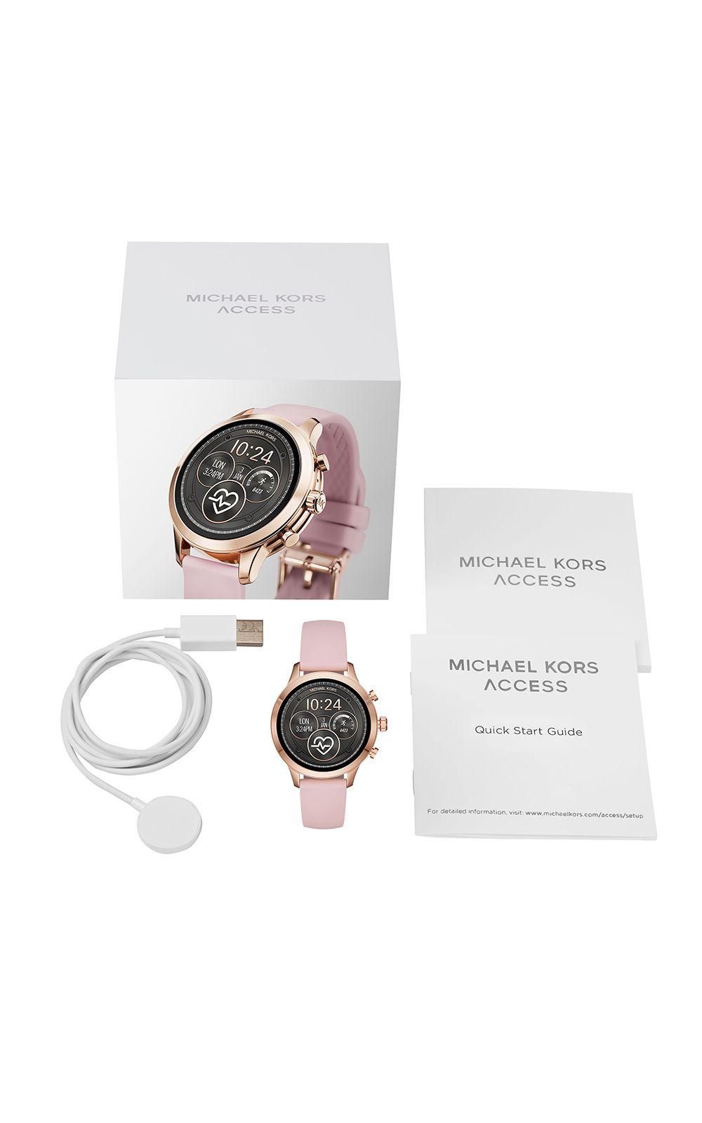 43303ac43 Foto 6 - Smartwatch Michael Kors Feminino Runway Rosé - MKT5048/0TI