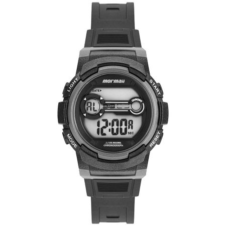 Relógio Mormaii Unissex Fun Preto - MO0200A/8C