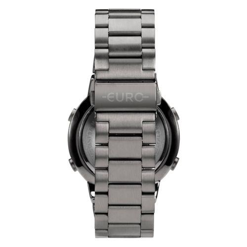 ea1eba8b570 Relógio Feminino Fashion fit EUBJ3279AE 4K - Prata - euro