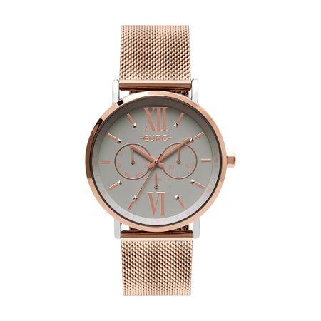 Relógio Euro Multi Glow Feminino Bicolor EU6P29AHA/5K
