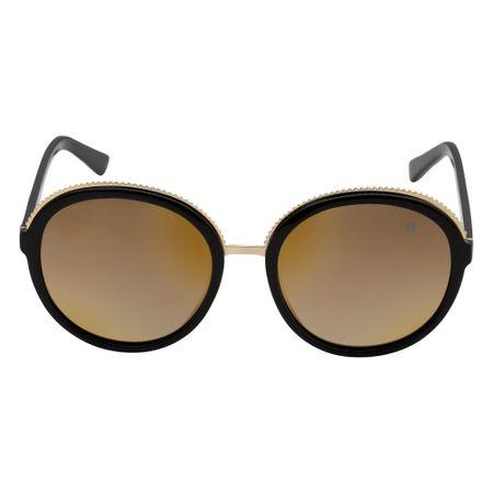 Óculos Euro Texture Retrô Preto E0032A0247/8D