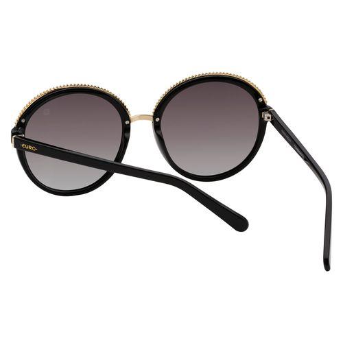 Óculos Euro Texture Retrô Preto E0032A0247 8D - euro ffd8f13e45