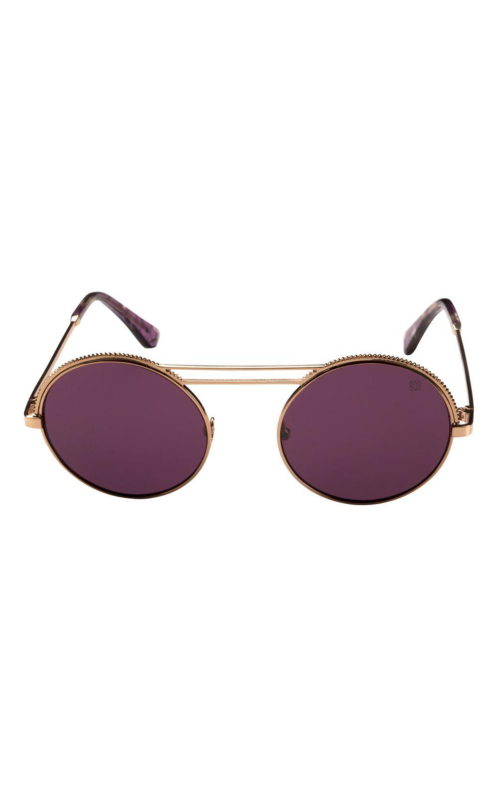 Foto 1 - Óculos Euro Retrô Glam Rosé E0042E1014/4G