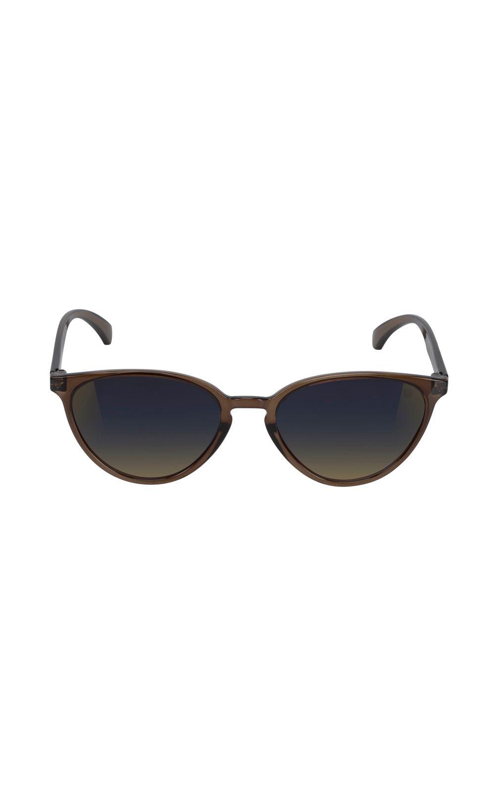 Foto 1 - Óculos Euro Geometric Trendy Marrom E0040J0827/8M