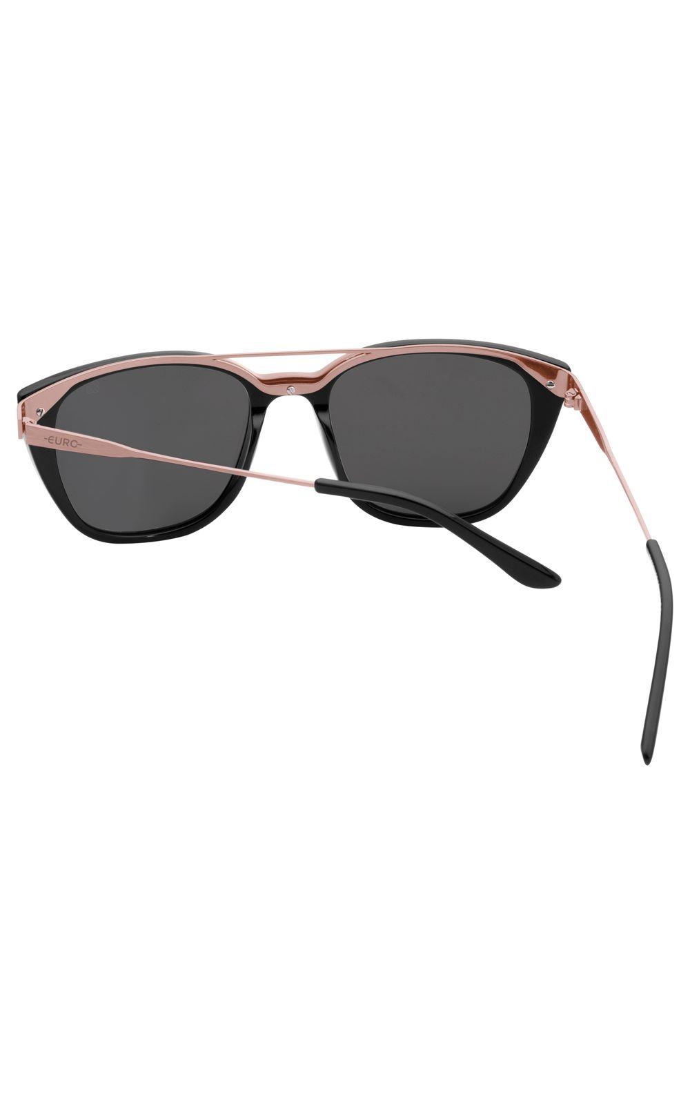 Foto 3 - Óculos Euro Fashion Basics Preto E0039A2910/4J