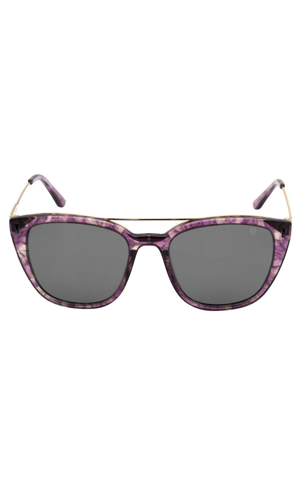 Foto 1 - Óculos Euro Fashion Basics Lilás E0039FC110/4C
