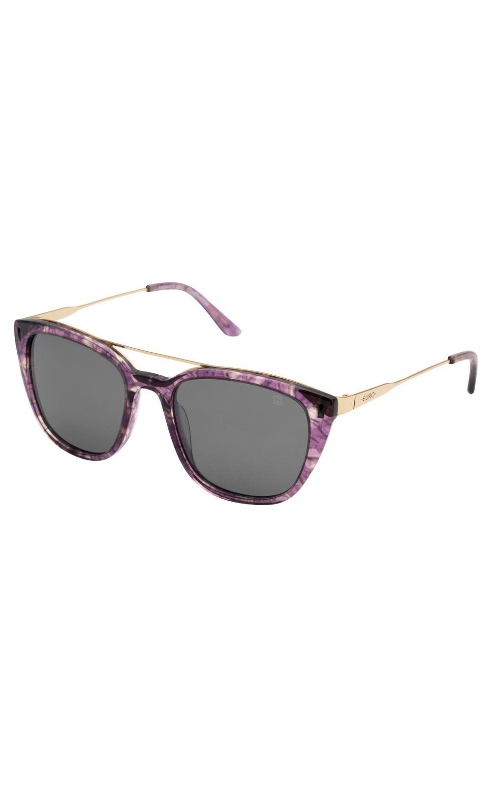 Foto 2 - Óculos Euro Fashion Basics Lilás E0039FC110/4C