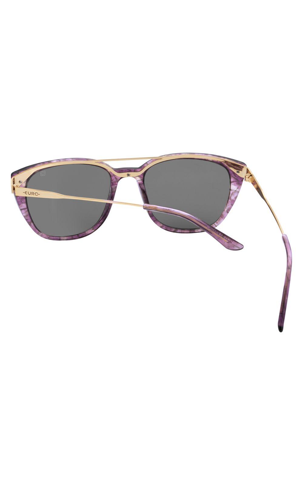 Foto 3 - Óculos Euro Fashion Basics Lilás E0039FC110/4C
