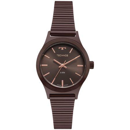 Relógio Technos Boutique Feminino Marrom 2035MQH/4M
