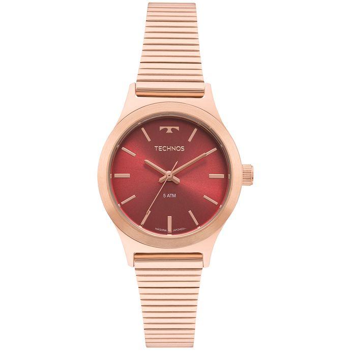 c65e34930c6 Relógio Technos Boutique Feminino Rosé 2035MQI 5R