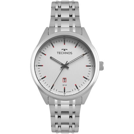 Relógio Technos Steel Masculino Prata 2115MSA/1B