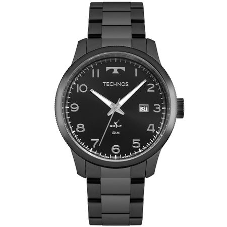 Relógio Technos Golf Masculino Preto 2315LAH/5P