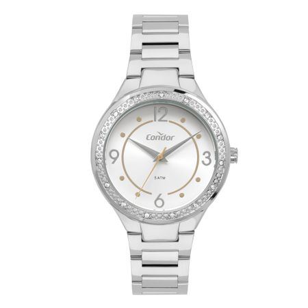 Relógio Condor Bracelete Feminino Dourado CO2035MQJ/3K