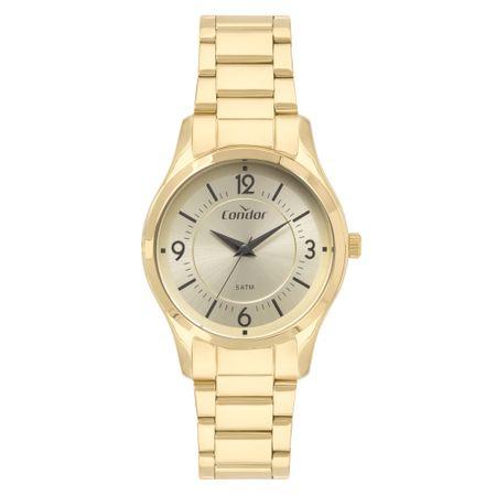 Relógio Condor Bracelete Feminino Dourado CO2036KVL/4D