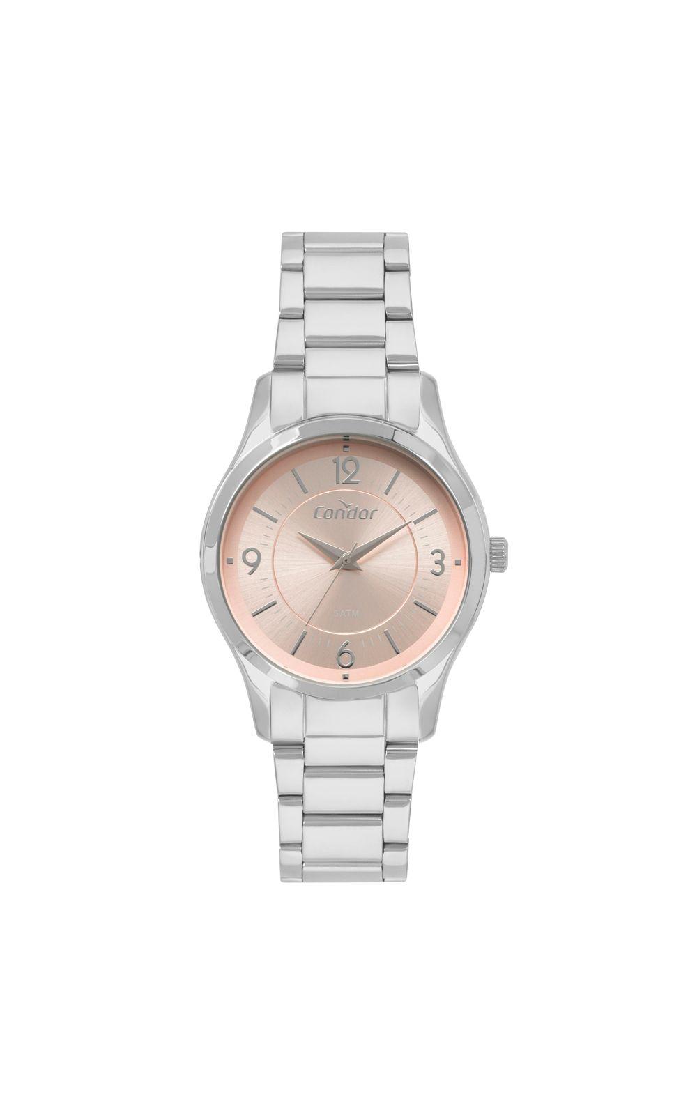 e119f915108 Relógio Condor Bracelete Feminino Prata CO2036KVM K3J. undefined