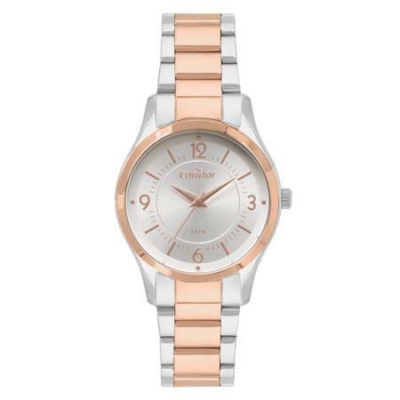 Relógio Condor Bracelete Feminino Bicolor CO2036KVN/5K