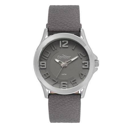 Relógio Condor Metal Masculino Prata CO2036KVQ/K2C