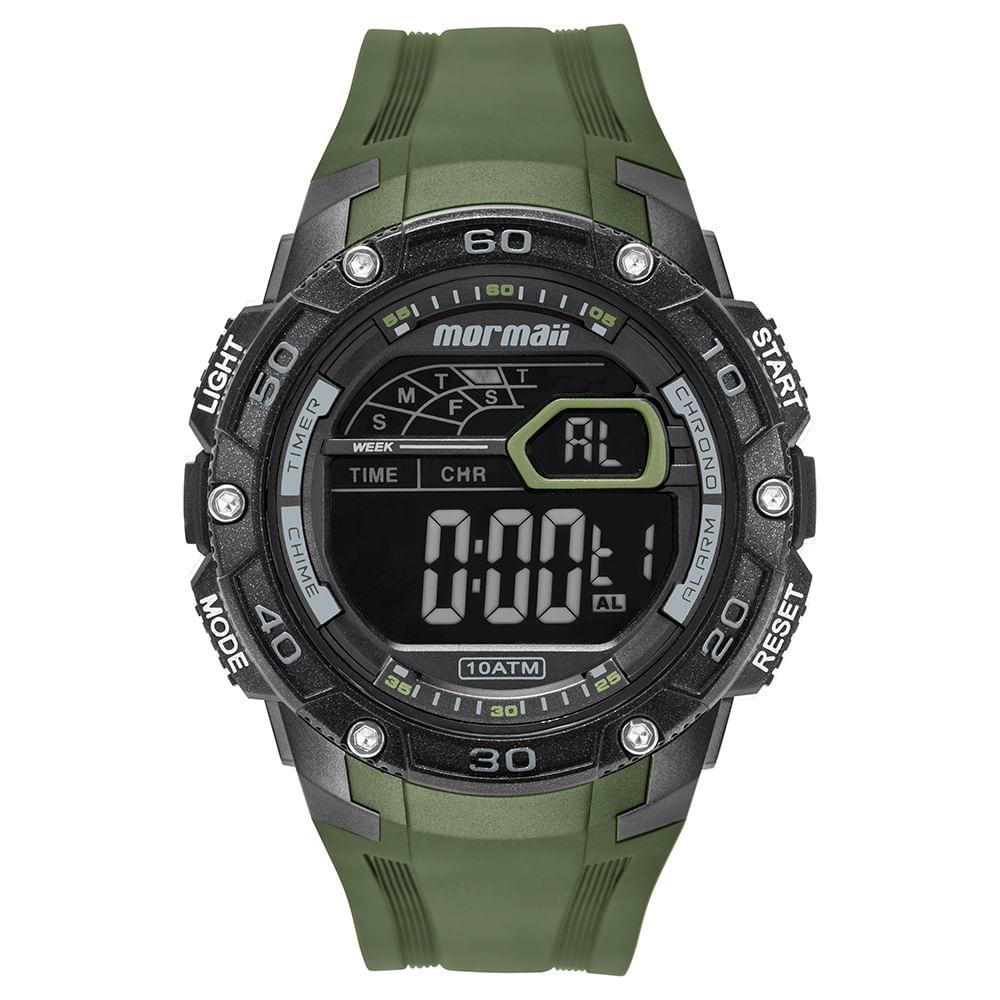 bbecb2ec7 Relógio Mormaii Wave Masculino Prata MO9670AD/8V - timecenter