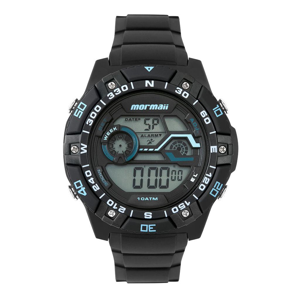 1ca1ed306 MO9030AA8A; MO9030AA8A; MO9030AA8A. Mormaii. Relógio Mormaii Wave Masculino  ...