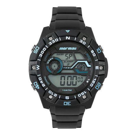 Relógio Mormaii Wave Masculino Preto MO9030AA/8A