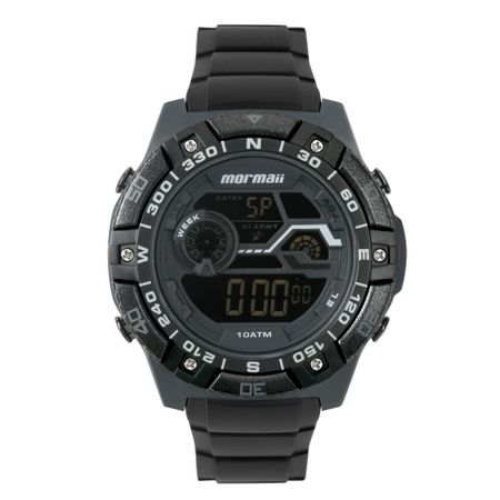Relógio Mormaii Wave Masculino Preto MO9030AB/8C