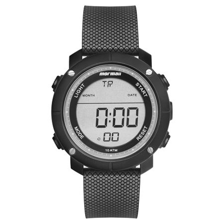 Relógio Mormaii Wave Masculino Preto MO0700AA/8P
