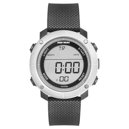 5b9c1ad892395 Relógio Mormaii Wave Masculino Prata MO0700AB 8C