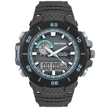 Relógio Mormaii Wave Masculino Preto MOAD9450AB/8A