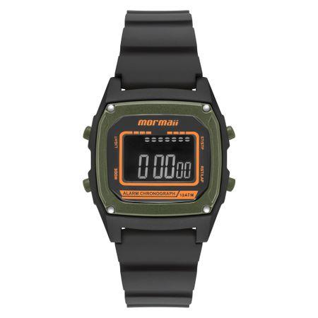 Relógio Mormaii Steel Basic Unissex Preto MON28/8V