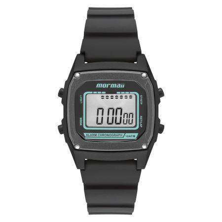 Relógio Mormaii Steel Basic Unissex Preto MON28/8P