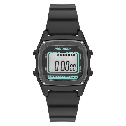 2359ff26cef Relógio Mormaii Wave Unissex Preto MON28 8P - timecenter